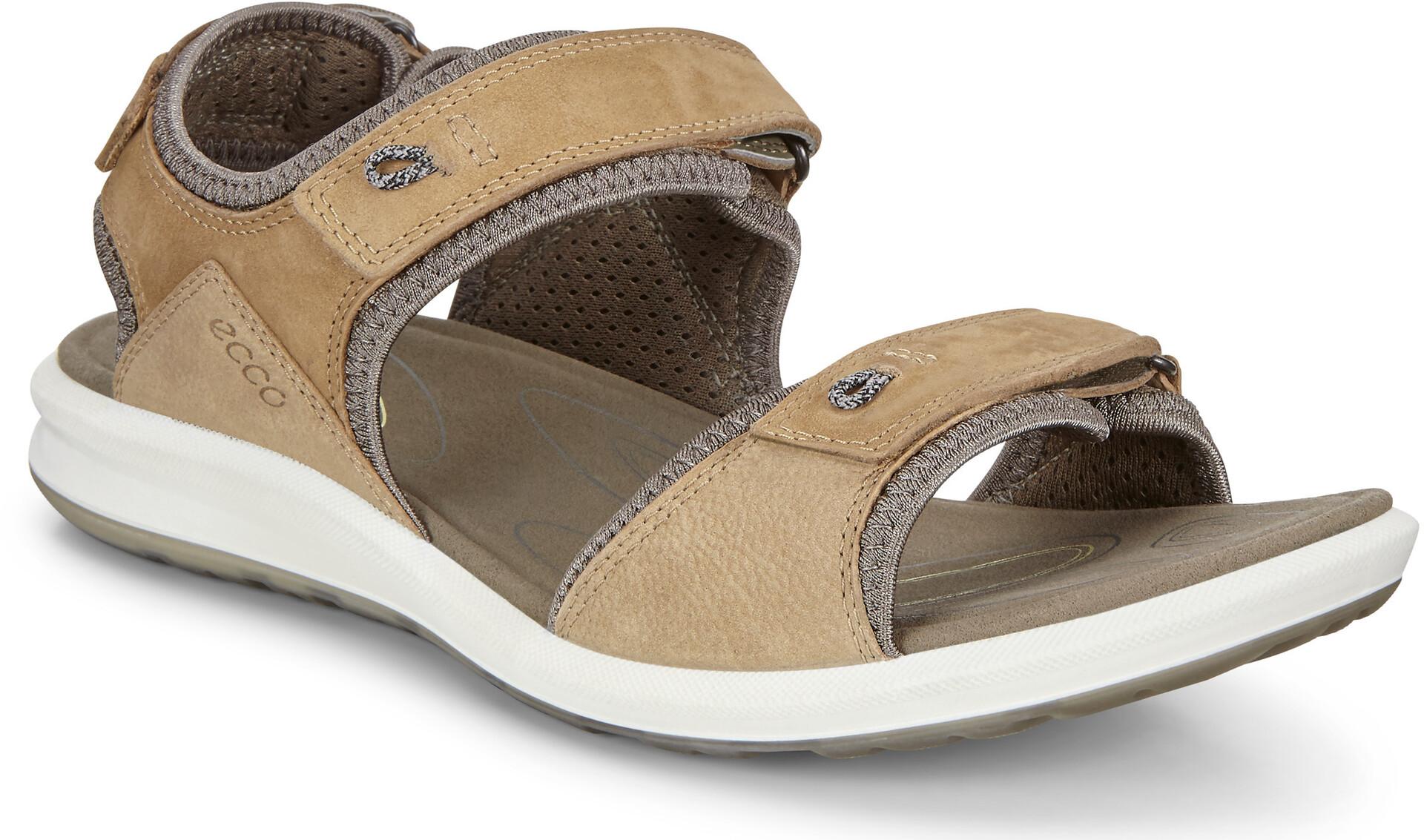 ECCO Cruise II Sandals Damen navajo brownblack